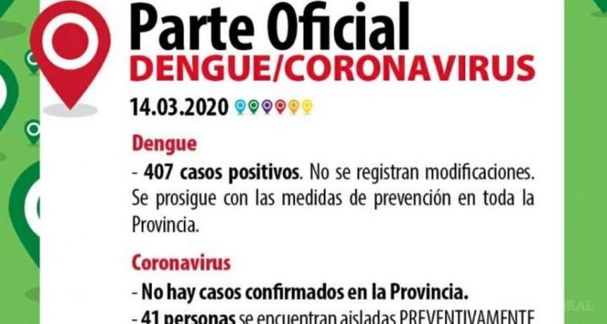 Coronavirus: más personas aisladas en Corrientes