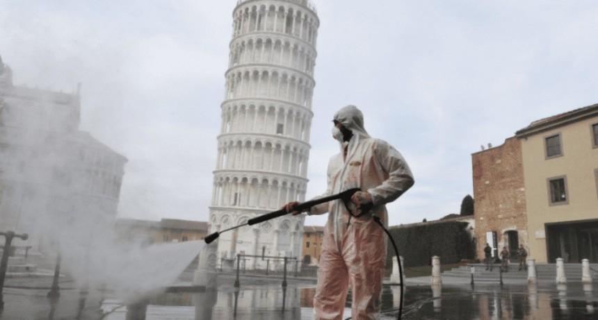 El coronavirus no para de matar en Italia: 793 muertos en un día