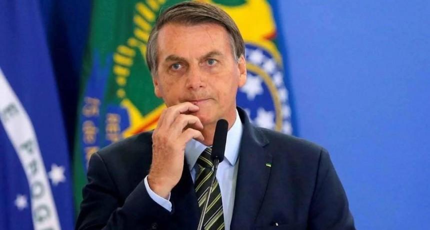 Bolsonaro anunció la