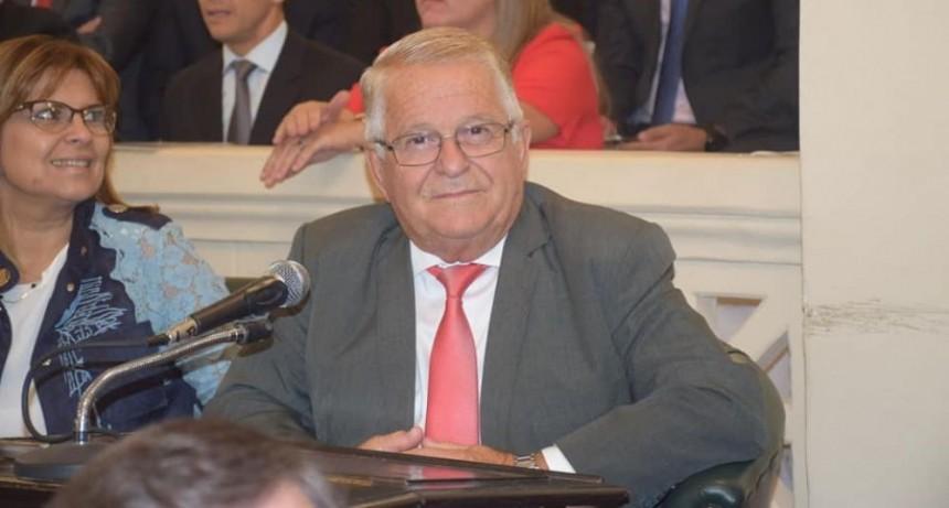 Senador provincial fue internado en el cardiológico por angina de pecho