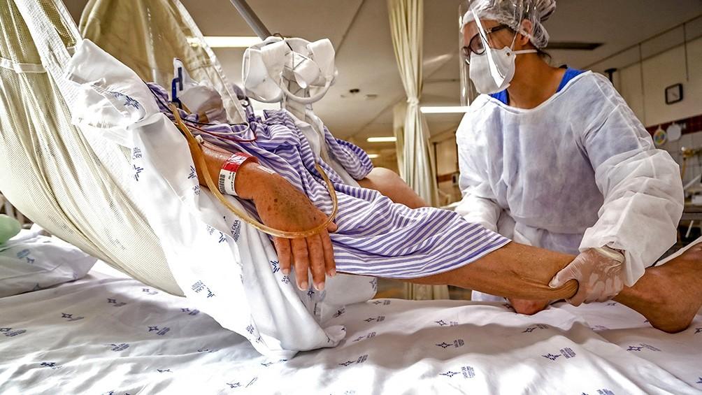 Brasil sufre el peor colapso hospitalario de su historia