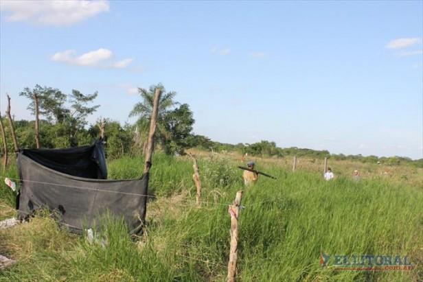 Unas 30 familias usurparon terrenos del barrio Ponce