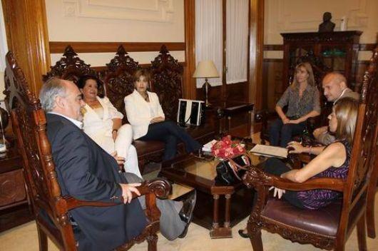 Ricardo y legisladores, mano a mano