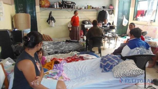 En San Luis siguen evacuadas 8 familias y exigen obras en la localidad y el Riachuelo