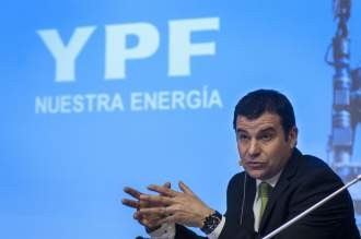 Galuccio insiste en la necesidad de que YPF sume inversiones