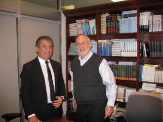 Urribarri se reunió en Nueva York con el premio Nobel Joseph Stiglitz