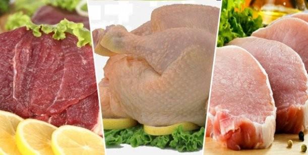 La carne más sana: ¿cerdo, vaca o pollo?
