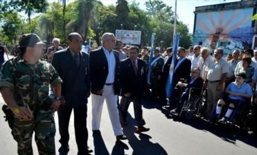 Ríos encabezó actos municipales por la gesta de Malvinas