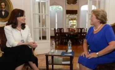 Bachelet visitará Argentina en su primer viaje oficial al exterior