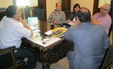 Cassani y Tassano se reunieron con referentes de la Salud