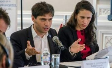 En Washington, Kicillof advirtió sobre buitres