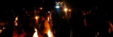 Durante Mas De Una Hora Vecinos cortaron la Ruta 14 para expresar su malestar