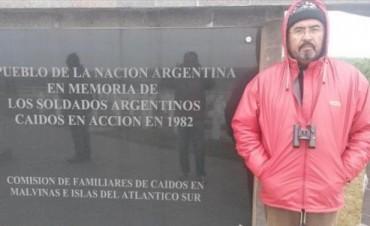 """Fernando Romero: """"Volver a Malvinas fue un desahogo y sirvió para aliviar el dolor"""""""