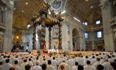 Francisco celebró la misa Crismal: