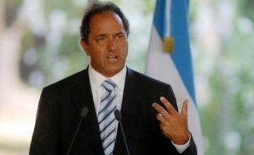 Scioli llegaría a Corrientes en mayo