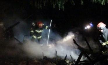 Matrimonio de ancianos murió calcinado en el incendio de una precaria vivienda