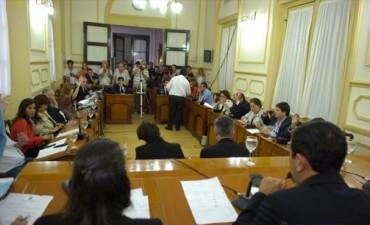 Por unanimidad y especial consenso, el Concejo aprobó la tasa a la obra pública