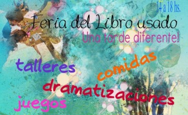 """""""Feria del Libro Usado En La Cruz""""  Una tarde diferente ,totalmente exitosa"""