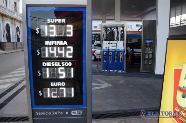 Combustibles: en las estaciones esperan por una suba del 1%