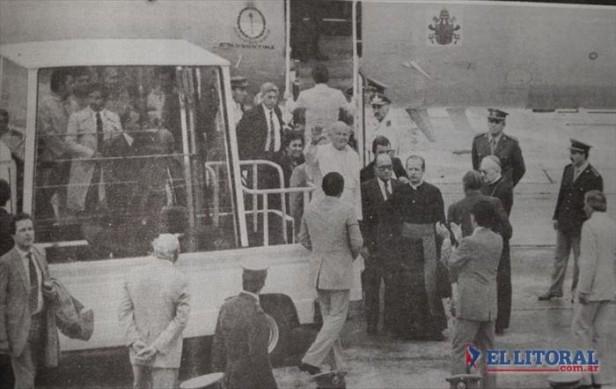 Hace 28 años, Juan Pablo II visitaba Corrientes y pedía conservar la fe popular