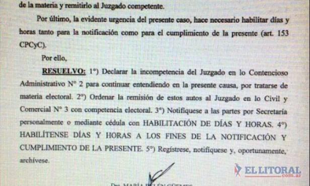 Capital: se apartó la jueza que suspendió las urnas del 5 de julio y la Comuna apelará hoy