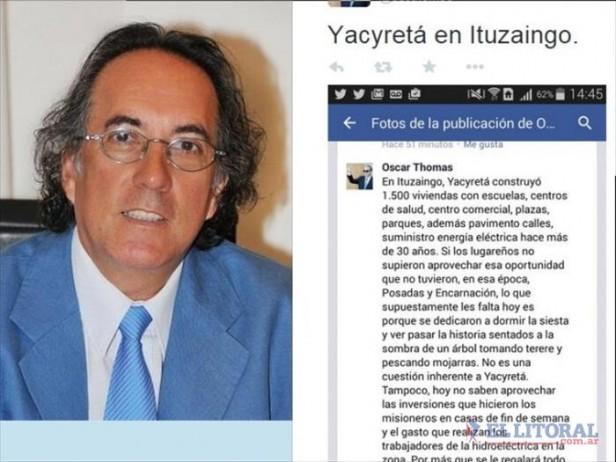Colombi y Artaza renuevan las críticas al titular de la EBY
