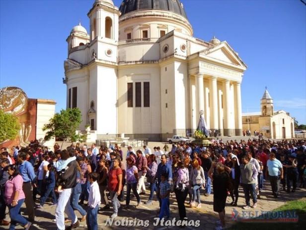 Itatí: tras recibir la bendición, los peregrinos emprenden el regreso