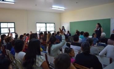 Con el 50% del colegio en condiciones, mañana comienzan las clases en el Piragine Niveyro