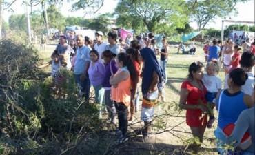 Patono: okupas van a la Justicia para negociar la compra de lotes