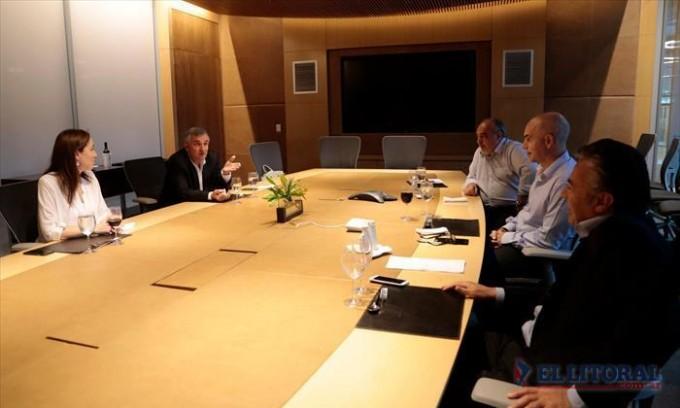 Con Rodríguez Larreta de anfitrión, Colombi analizó la gestión en un cónclave de gobernadores de Cambiemos