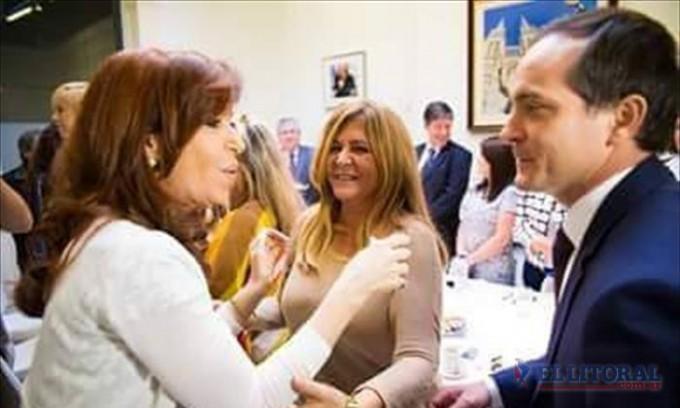 Camau, en la reunión con Cristina Fernández de Kirchner