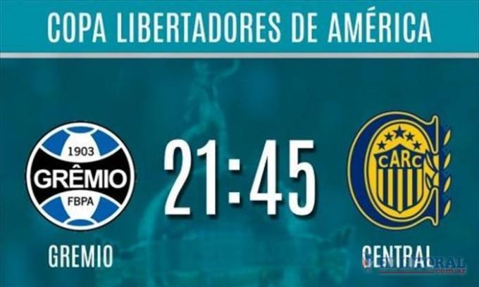 Rosario Central visita a Gremio por los octavos de final de la Copa Libertadores