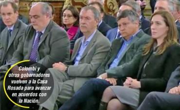 Colombi firma con Macri acuerdo para jerarquizar el empleo público
