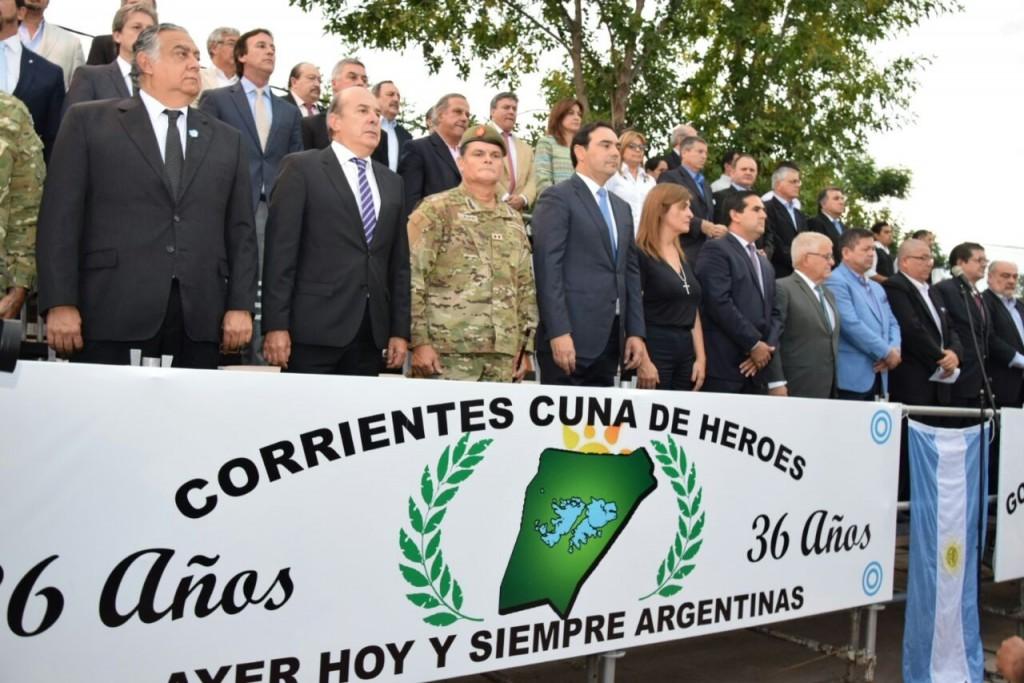 Valdés anunció fuertes inversiones para reivindicar a excombatientes
