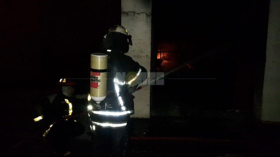 El Galpón del Mercado Municipal no habría tenido los elementos contra incendios suficientes