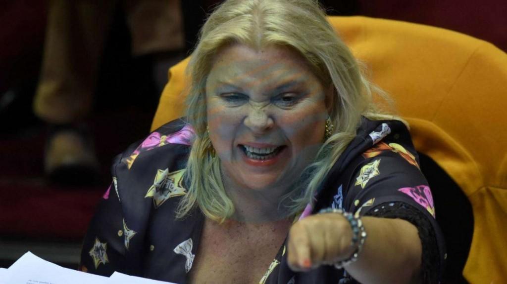 "Elisa Carrió contra Lorenzetti: ""Es un desestabilizador"""