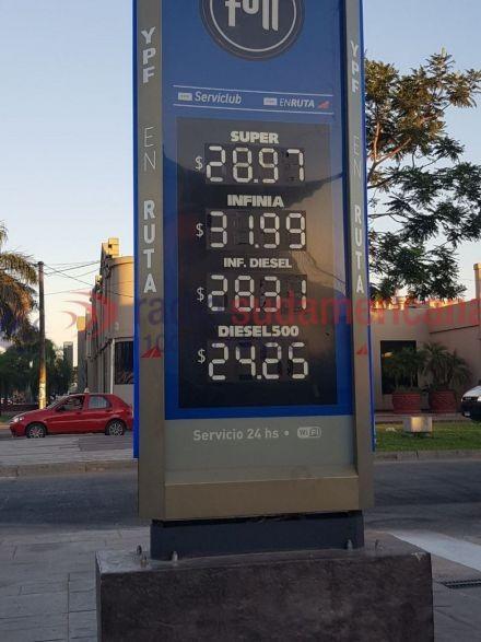 YPF finalmente también remarcó sus precios