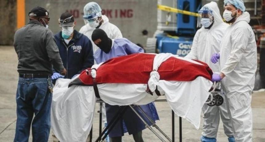 Nueva York con 731 muertos en un día