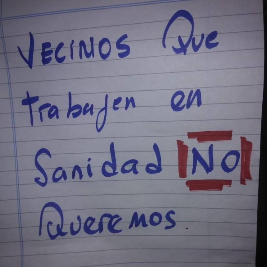 Discriminación en Corrientes: pegaron un cartel en contra de los trabajadores sanitarios