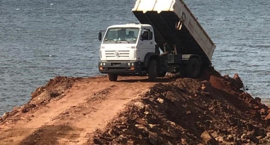 La Cruz Corrientes: En plena Pandemia avanza la construcción de un muelle