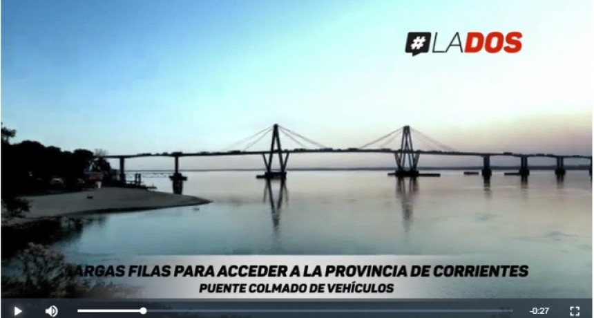 La cuarentena va perdiendo fuerza y se incrementan los vehículos que ingresan a Corrientes