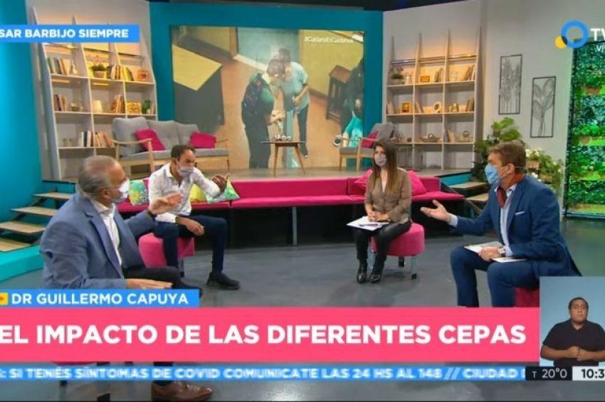 En la TV Pública los conductores ya usan tapabocas y avanza la campaña #BarbijoEnLaTV