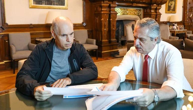 Alberto Fernández , durísimo contra Larreta: