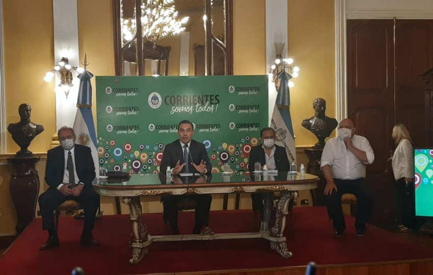 Pandemia: Encabezado por Gustavo Valdés se reúne el Comité de Crisis Provincial para evaluar la situación