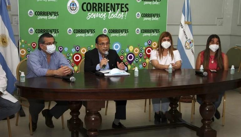 Advertencia del ministro Cardozo por aumentos de contagios en Corrientes