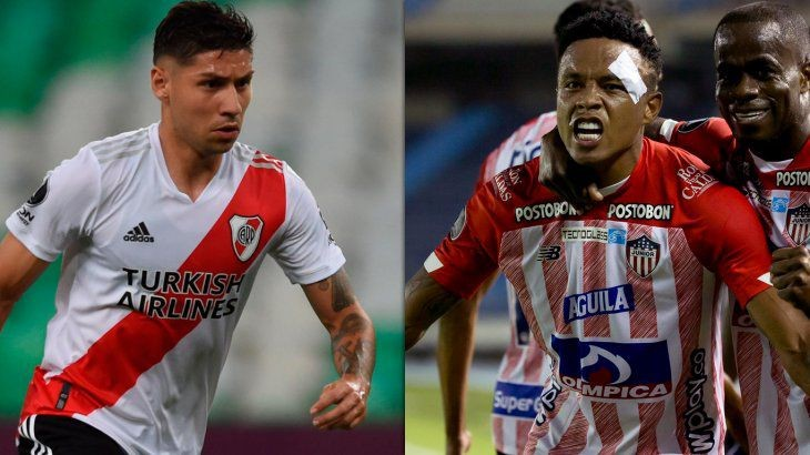 River recibe a Junior por Copa Libertadores: horario, formaciones y TV