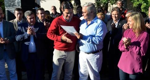 Ríos y Capitanich inauguraron obras financiadas por Nación y Municipio