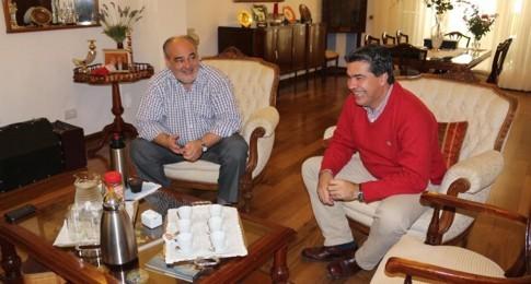 El Gobernador recibió en la residencia oficial al Jefe de Gabinete de la Nación