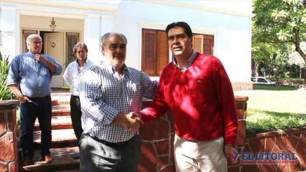 Colombi recibió a Capitanich: cerraron acuerdo para apurar obras millonarias