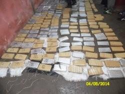 Secuestran 202 kilos de marihuana en una casa del barrio Loma Linda